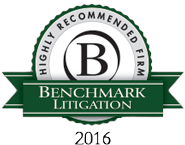 Benchmark Litigation: Highly Recommended Firm