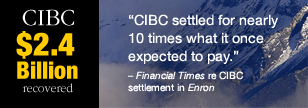 CIBC Settlement in Enron