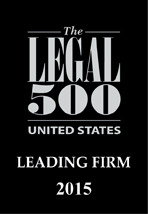 The Legal 500 - Leading Firm Award 2015