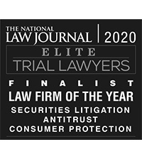 National Law Journal Elite Trial Lawyers Finalist 2020