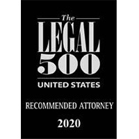 Legal 500-Recommended Attorney
