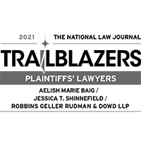 The National Law Journal Plaintiffs' Lawyers Trailblazers
